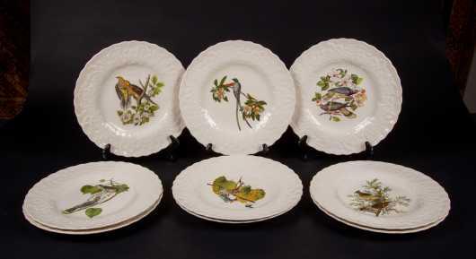 "Set of Nine Alfred Meakin England II ""Audubon Plates"""