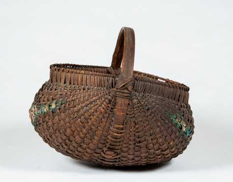 19thC Melon Basket
