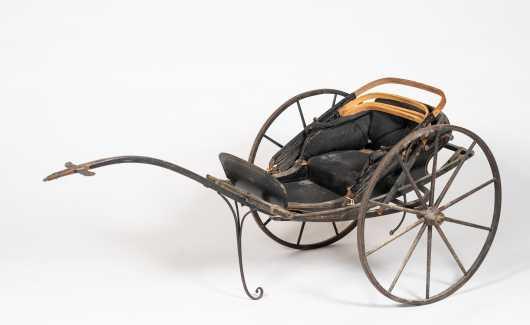 19thC American Child's Goat Cart