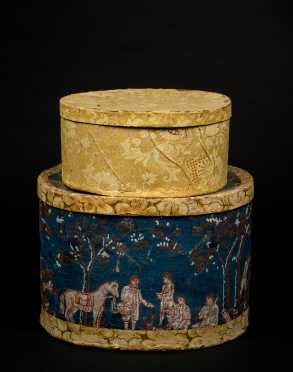 Two 19thC American Hat Boxes