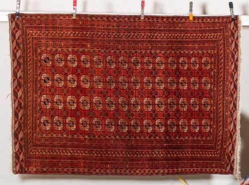 Tekke Bokhara Oriental Scatter Size Rug