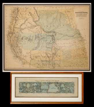 Two American 19thC Maps