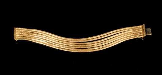 18K Multi-Strand Gold Bracelet