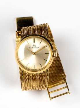 Bucherer Ladies 18K Gold Watch