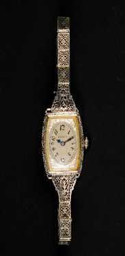 Ladies Gruen Art Deco Wrist Watch