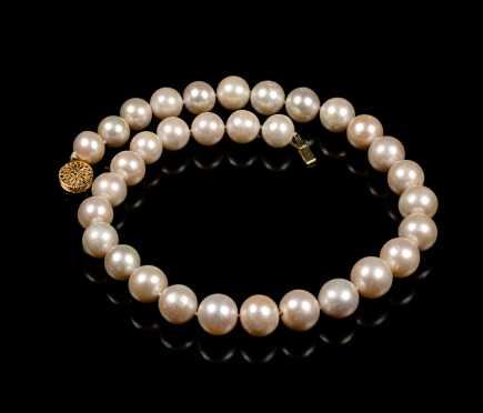 Strand of Large Pearls