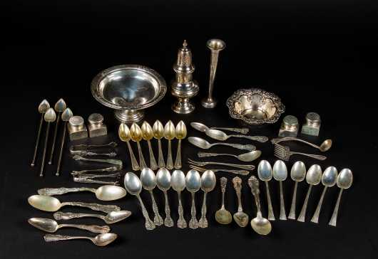 Lot of Sterling Silver Miscellaneous Pieces