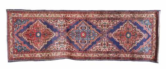 Caucasian Style Oriental Rug Runner