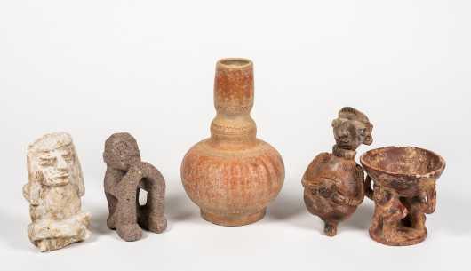 Five Pre-Columbian Artifacts