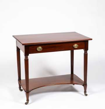 American Federal Mahogany Dressing Table