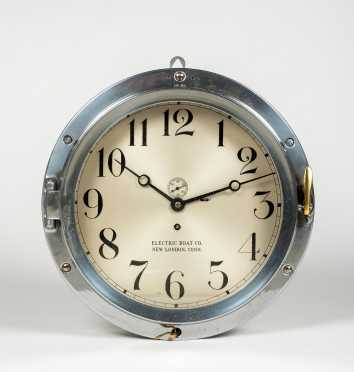 Electric Boat Co, New London, Conn (Chelsea) Wall Clock