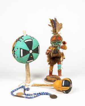 Native American Lot of Three Items