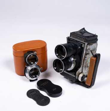 Mamiyaflex C Medium Format Camera