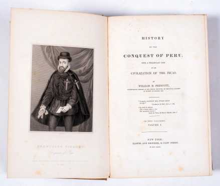 William H. Prescott, History of the Conquest of Peru