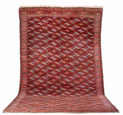 Room Size Yomud Oriental Rug