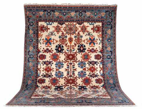 20thC Ahar Room Size Oriental Rug