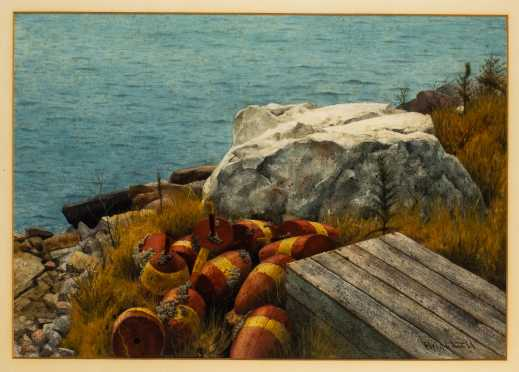 Walter E. Brightwell, Jr, Florida / Maine (1919-2005)