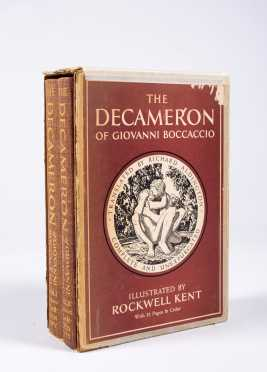 Rockwell Kent, The Decameron by Giovanni Boccaccio, Signed