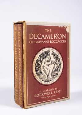 Rockwell Kent, The Decameron by Giovanni Boccaccio