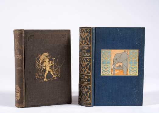 Mark Twain, Two Books