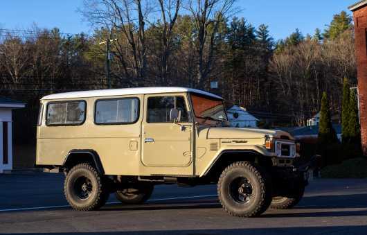1981 Toyota Land Cruiser HJ47 Troopy, VIN #HJ47012130
