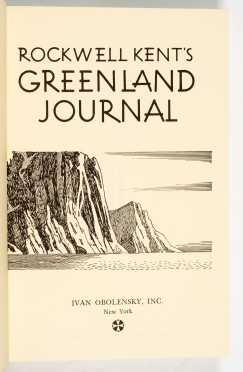 Rockwell Kent's Greenland Journal