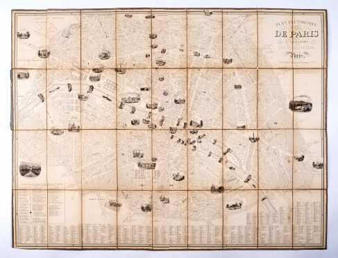 Alexandre Vuillemin, Plan Pittoresque de Paris