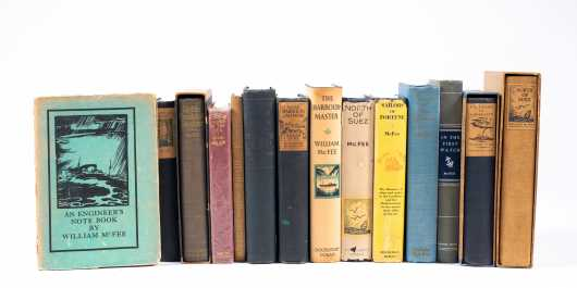 Twenty-Six Books by and about William McFee Including Limited, First, and Signed Editions