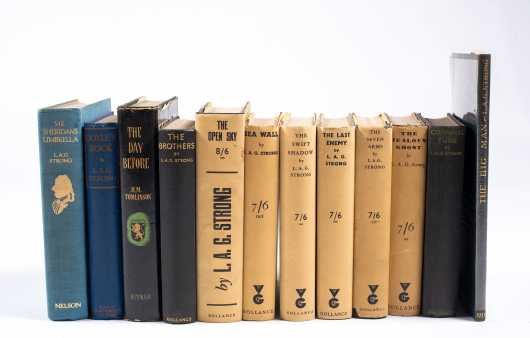 Twelve Books (Eleven First Editions) by L.A.G. Strong, One Signed