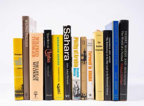 Fourteen Books on the Desert Countries Including Arabia, Sahara