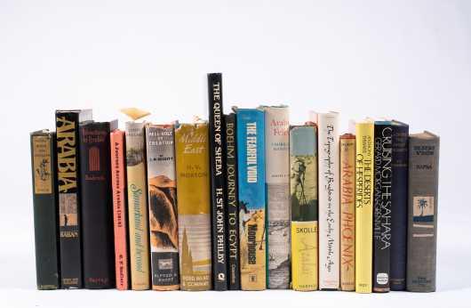 Eighteen Books on the Desert Countries Including Sahara, Egypt