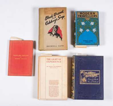 Five Miscellaneous Books on Travel