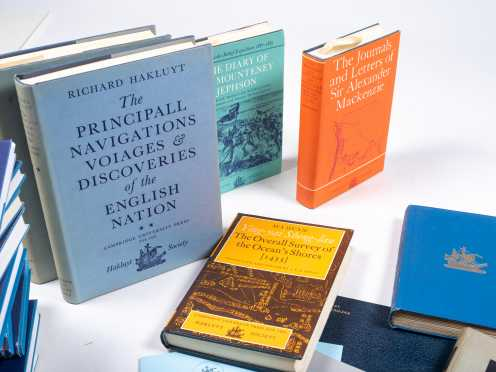 Sixty-Eight Books Published by the Hakluyt Society