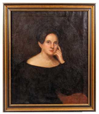 Primitive Painting of Louisa Hunt C1840
