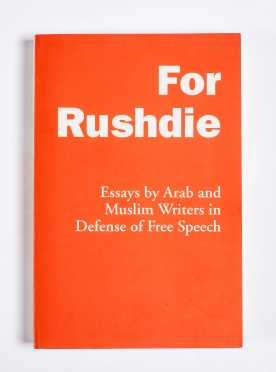 Rare Imprint on Free Speech, Signed by Rushdie