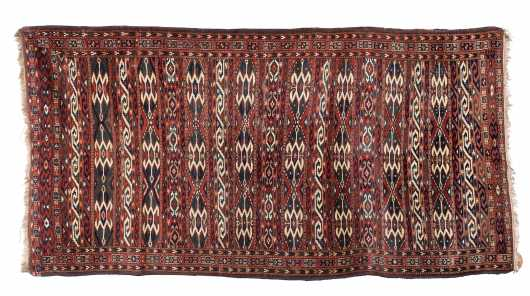 Antique Tekke Style Small Room Size Oriental Rug
