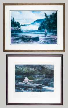 Fishing Prints by Winslow Homer and John Swan