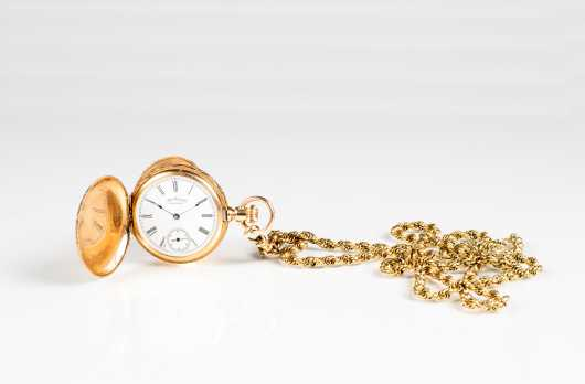 14K American Watch Co. Waltham Pocket Watch