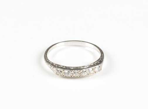 Antique Diamond Band Ring