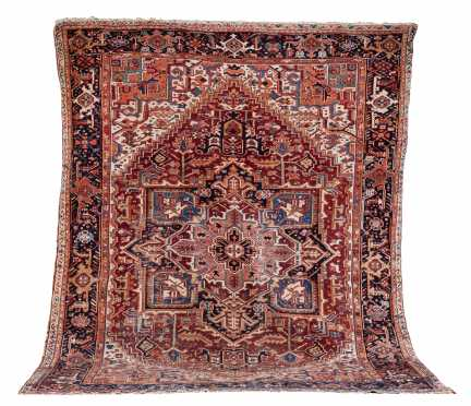 Heriz / Goravan Room Size Oriental Rug