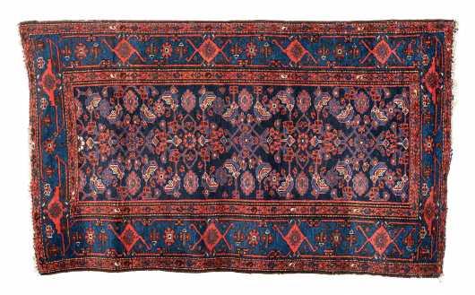 E20thC Hamadan Oriental Scatter Rug
