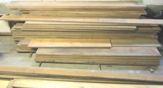 Large Lot Of Old Growth Thailand Teakwood