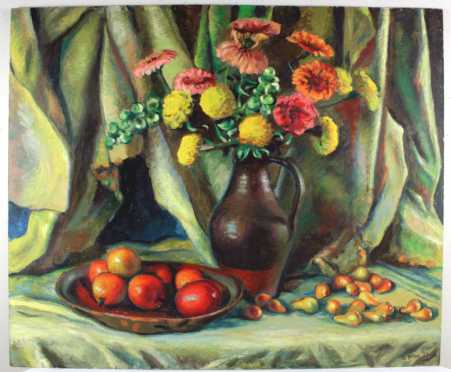 Frederick Rhodes Sisson painting