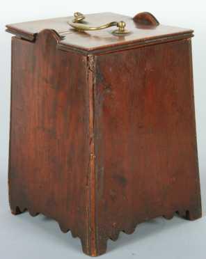 English Mahogany Sugar Box