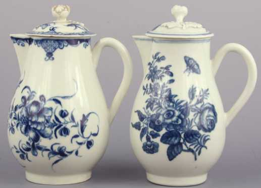Worcester Covered Sauce Pitchers