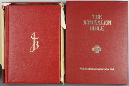 The Jerusalem Bible With Illustrations by Salvador Dali,