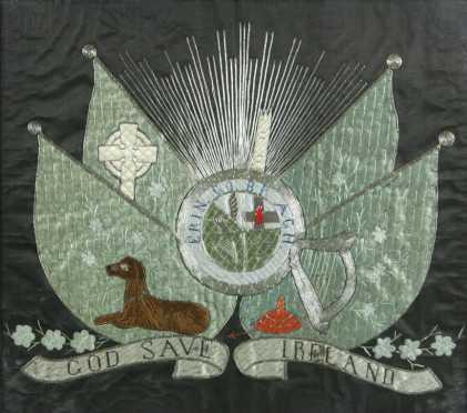Irish Needlework Coat of Arms