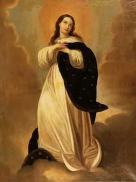 "School Of Bartolome Esteban Murillo, 19th century copy of the ""Immaculate Conception of the Escorial,"""