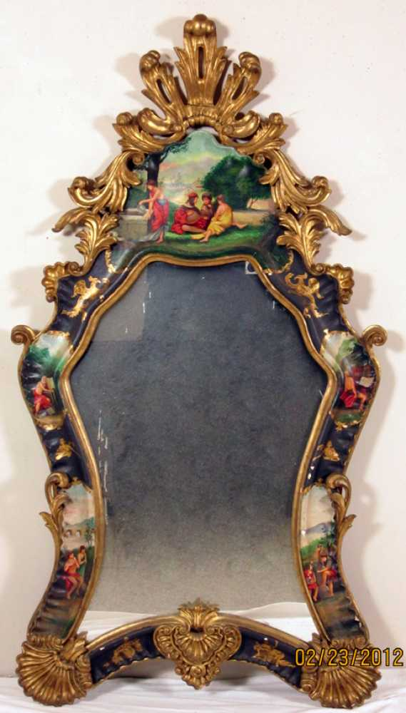 decorated rococo style mirror - Decorated Mirror