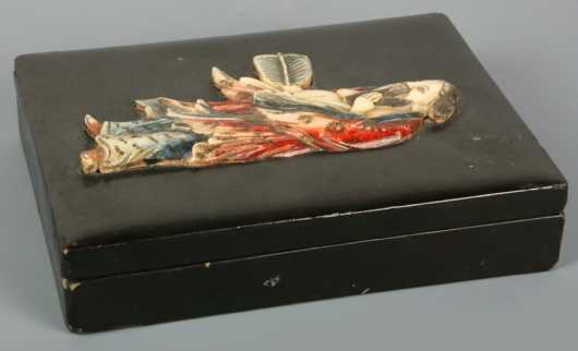 Chinese Lacquer-ware Covered Box